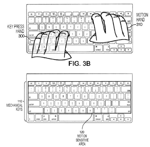 Apple - Klavye patent başvurusu