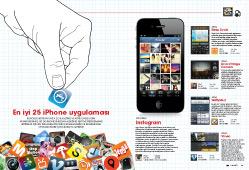 EN İYİ 25 iPHONE UYGULAMASI