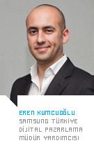 Eren Kumcuoğlu - Samsung Türkiye Dijital Pazarlama Müdür Yardımcısı