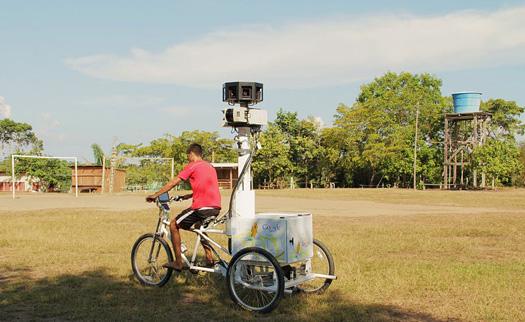 Google Street View - Amazon
