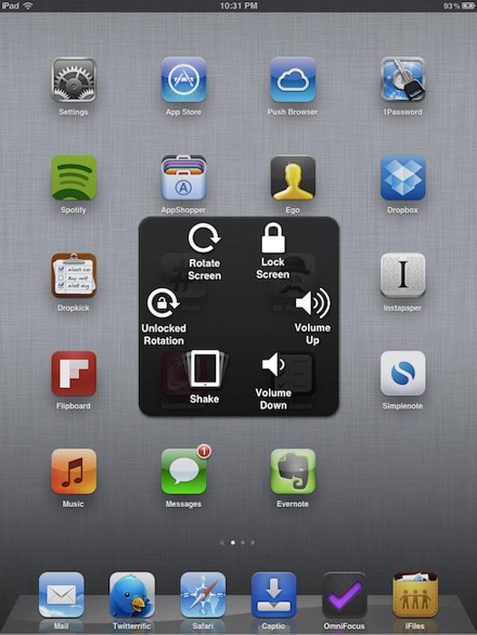 iOS 5 - iPad