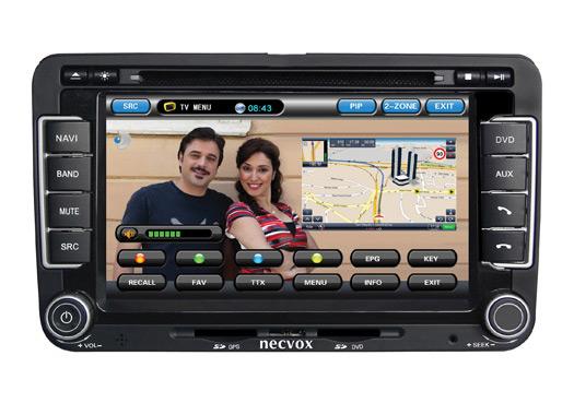 Necvox ile GPS ve TV bir arada
