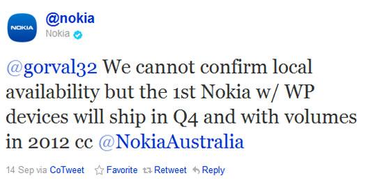 Nokia - Twitter açıklaması