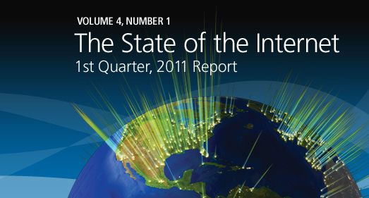 Akamai - The State of The Internet (2011'in 1. çeyreği)