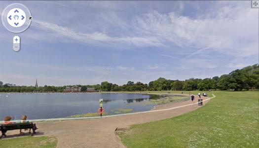 Google Street View ile parkta bir geziye davetlisiniz [Video]