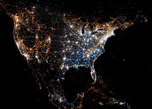 Twitter ve Flickr kullanımı - Amerika