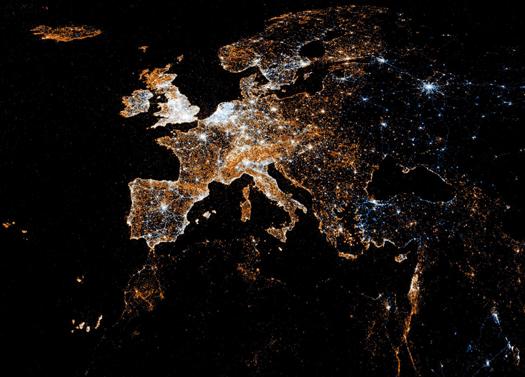 Twitter ve Flickr kullanımı - Avrupa
