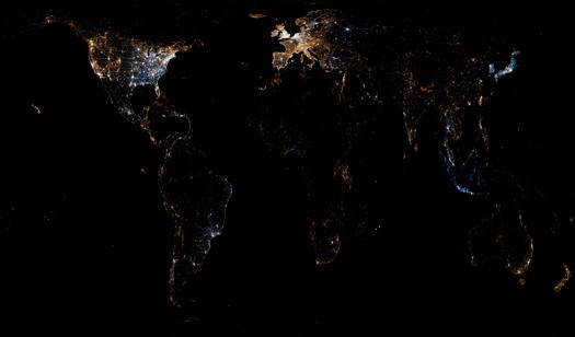 Twitter ve Flickr kullanımı - Dünya